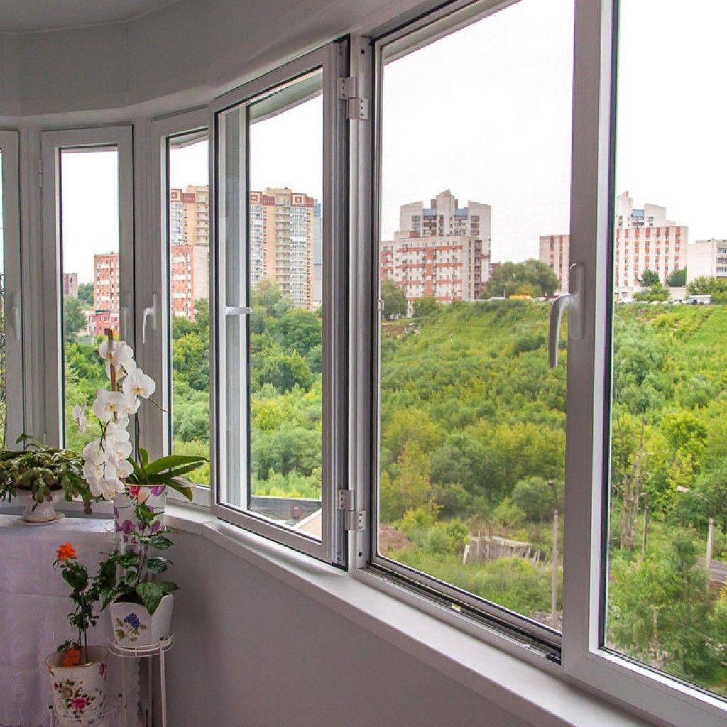Остекление балкона: готовая работа