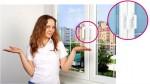 Оконная ручка Linea Design для пластикового или деревянного окна в компании ВИСЛА